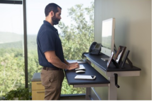 "60"" Crank-able Standing Desk"
